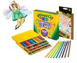 Crayola Drawing Colored Pencils, 100 Great Adults And Kids A