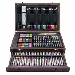 Drawing Set Art Painting Color Artist Kit Crayon Pencil Past