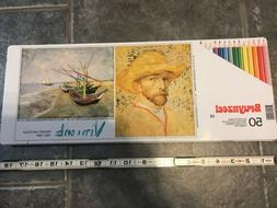 dutch masters 50pc colored pencil set used