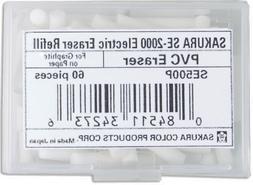 Sakura Electric Eraser Refill White 70/Pk