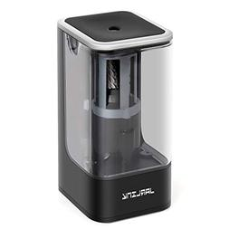 JARLINK Electric Pencil Sharpener, Auto Stop Feature and Hea