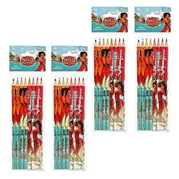 Disney Elena of Avalor 8-count Colored Pencils, 4-Packs