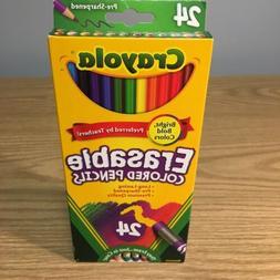 Crayola Erasable Colored Pencils Bright Bold Colors School H