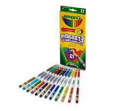 Crayola Erasable Colored Pencils, 24 Non-Toxic, Pre-Sharpene