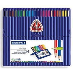 ergosoft colored pencils set of 24 colors