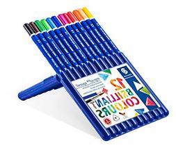 Staedtler Ergosoft Watercolor Pencils, Set of 12 Colors in S