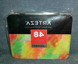 ARTEZA Expert Colored Pencils - Professional Set of 48 Color