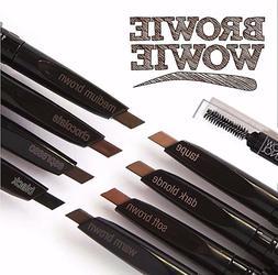 Eyebrow Pencil- LA Colors Retractable Slant Tip & Brush- Nat
