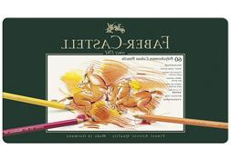 Faber-Castel 110060 Polychromos Colored Pencil Set In Metal