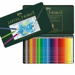 Faber Castell 36 Watercolor Pencils Tin Set+Graphite Aquarel