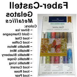 Faber-Castell FBR770170 FaberCastell Gelatos Set - Metallics