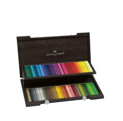Faber Castell Colour Pencil Polychromos 120 Colors in a Wood