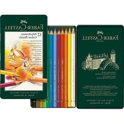 Faber-Castell Polychromos Artists' Colored Pencils Set of 12