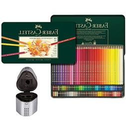 Faber Castell Premium Polychromos 120 Color Pencil Set and T