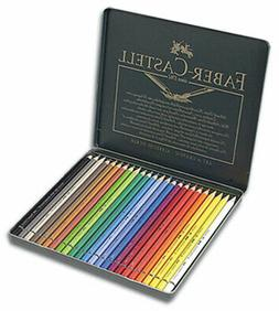 faber-castell polychromos pencils tin set of 24