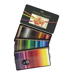 FaberCastell Polychromos Artist Colored Pencils Set - Tin of