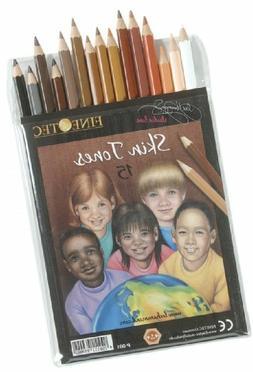 Finetec FTP001 Skin Tones Pencil Set - 15 Colors