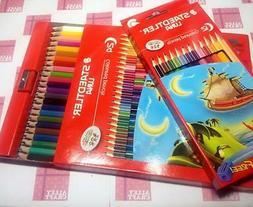 Genuine Staedtler Luna Coloured pencil Set 12 24