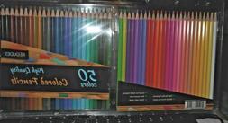 Kedudes High Quality  colored pencils 50 color pack brand ne
