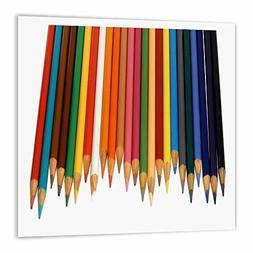3dRose ht_195374_3 Colored Pencils Iron on Heat Transfer, 10