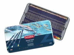 Derwent Inktense Professional Pencils 36 Tin Set Assorted Wa
