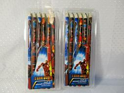 Iron Man 2  Colored Pencils 2010 2 6-packs NEW