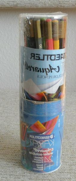 Staedtler Karat Aquarell Watercolor Pencils 24 Color Tube