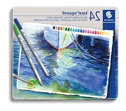 Staedtler Karat Aquarell Premium Watercolor Pencils, Set of