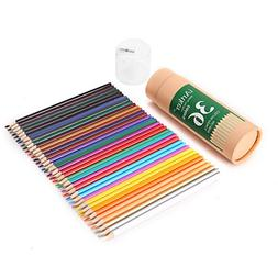 iArtker Adults and Kids Art Supplies Trilateral Long Colored