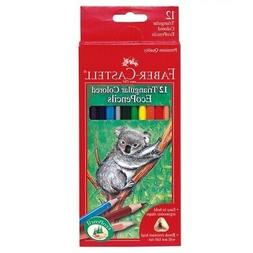Kids Triangular Colored EcoPencil Set - Childrens 12 Ct. Col