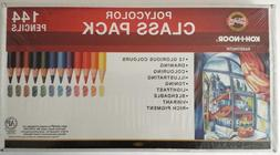 Koh-I-Noor Polycolor 144 Drawing Pencils 3.8 mm Class Pack 1