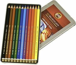 Koh-I-Noor Polycolor Drawing Pencil Set Assorted Colored Pen