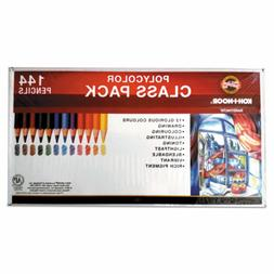 Koh-I-Noor Polycolor Drawing Pencils, 3.8 Mm, Class Pack, 12