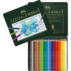 #117524 Faber Castell Tin of 24 Watercolour Pencils Albrecht