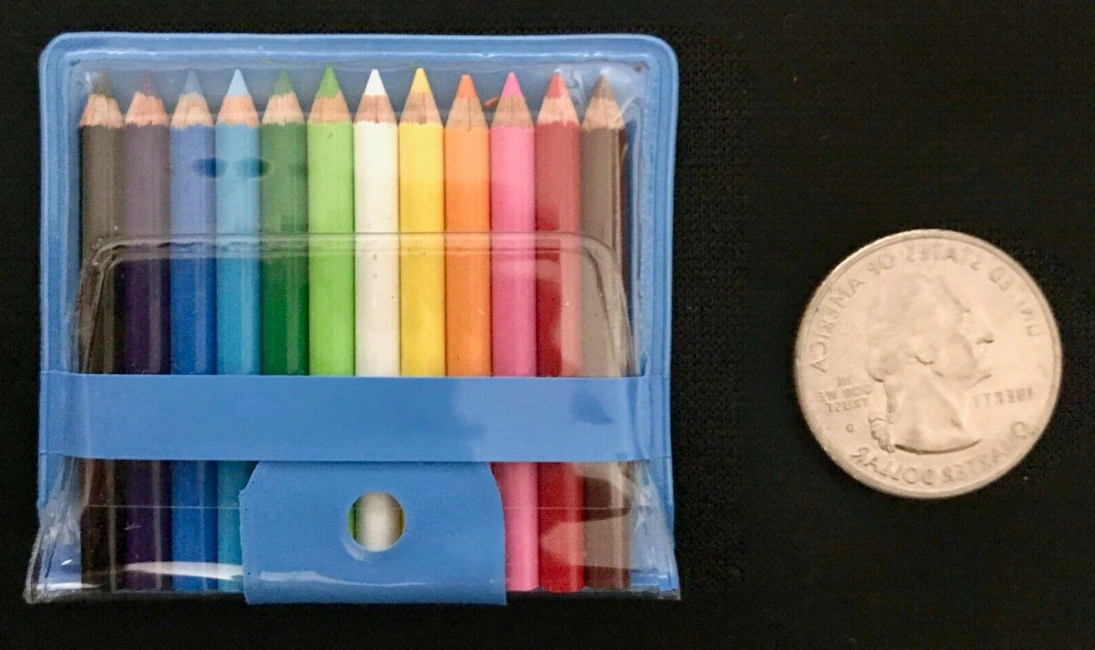 COLORED PENCILS Japan Case SCHOOL NWT