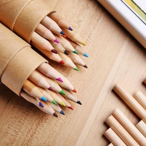 Colored Pencils Wooden Painting Colors