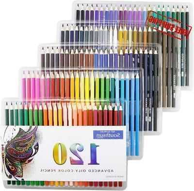 120 oil colored pencils artist paint art