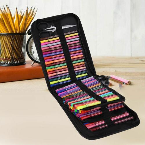120 Large Colored Organizer Foldable Pen Storage