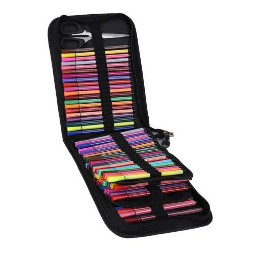 120 Colored Pencil Organizer Foldable Storage