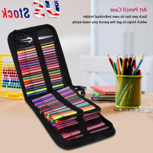 120 slots large capacity colored pencil case