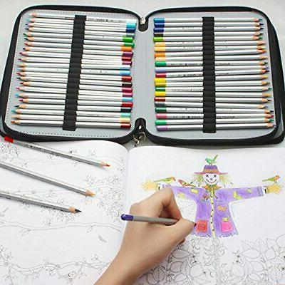 120-Slots Pencil Case With Black Office Products