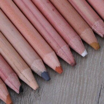 12PCS Soft Wood Skin