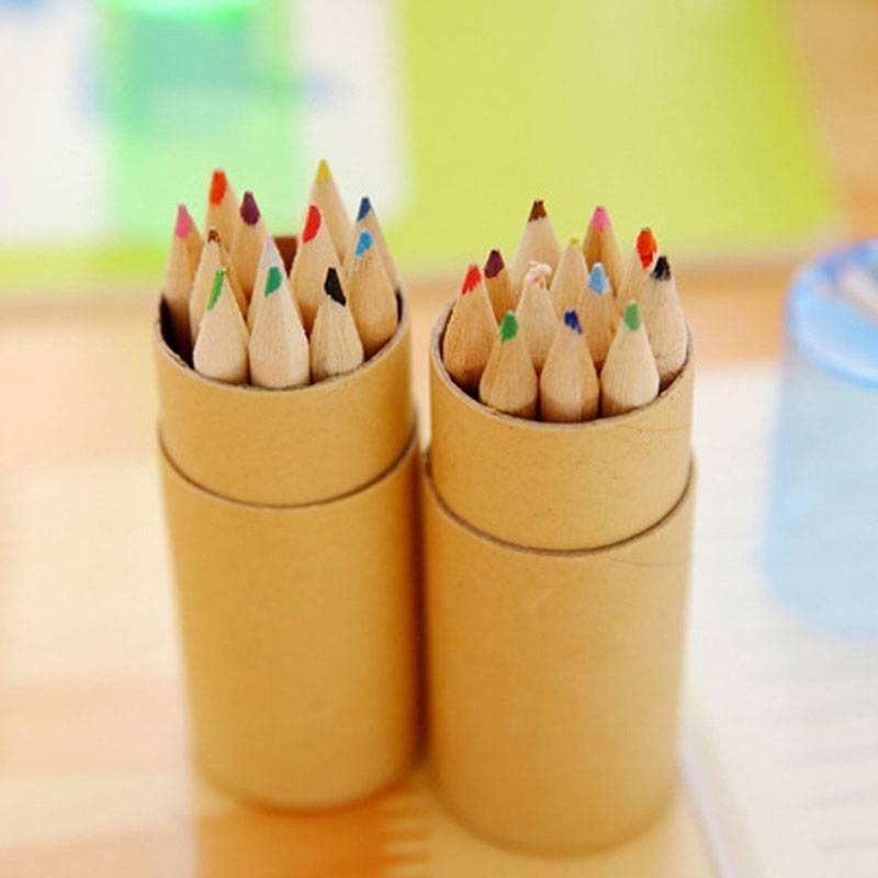 12Pcs Pencils Sharpener Kids