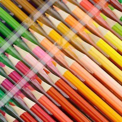 160 Pencils Painting Oil Pencil School