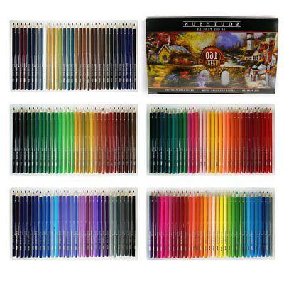 160 Pencils Set Oil Based Pencil For School