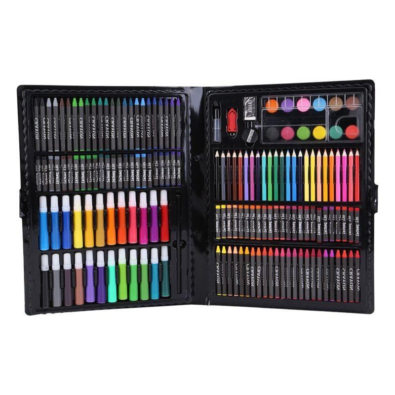 168 pcs kids art drawing pencils set