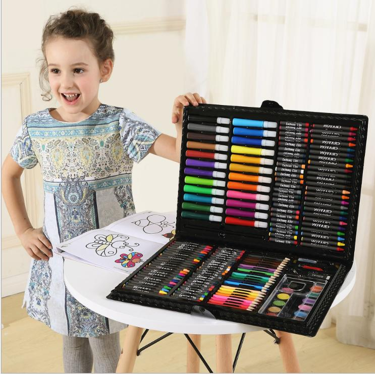 168 Pcs Drawing Colored Watercolor Markers