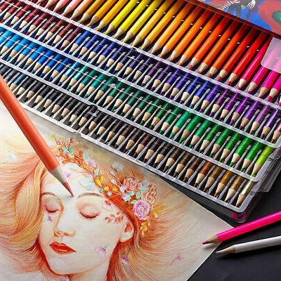 48/72/120/160 Professional Colored Pencils Set Painting