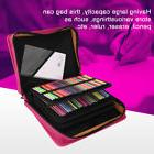 210 Slots Large Colored Pencils Storage Case Carring Bag PU