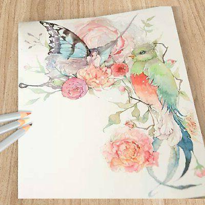 Ohuhu 24-color Watercolor Soluble Set